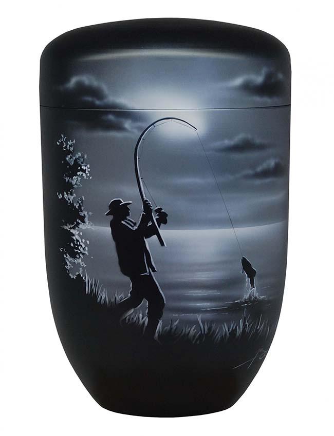 Design Urne Fischer (4,0 Liter) Edelstahl Urnen