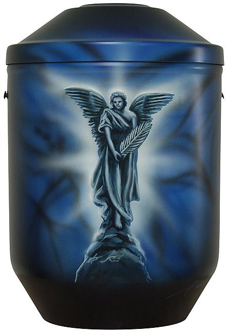 Design Urne Engel (4,0 Liter) Edelstahl Urnen