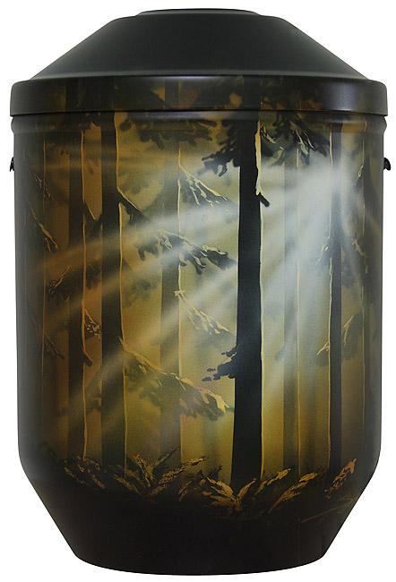 Design Urne Dämmerung (4,0 Liter) Edelstahl Urnen