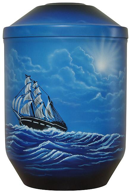 Design Urne Drei-Meister (4,0 Liter) Edelstahl Urnen