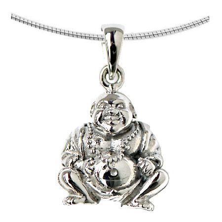 Aschenanhänger Buddha Silber Asche Anhänger Buddha