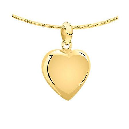 Achsbügel Herz Kleine Gold Asche Schmuck