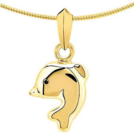 Asche Schmuck Delphin Gold Asche Schmuck