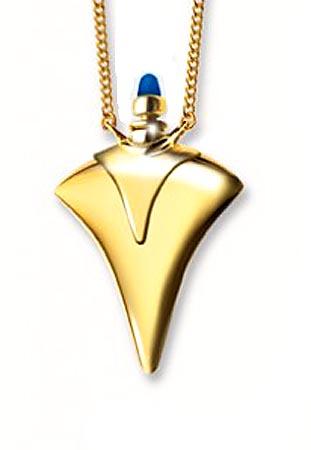 Harm Bron Design Flasche mit Lapis Lazuli Gold Asche Schmuck
