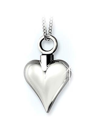 Achsbügel Herz Silber – Kleine Asche Schmuck
