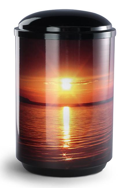 360 Graden Foto Design Urne Sonnenuntergang (4,0 Liter) Edelstahl Urnen