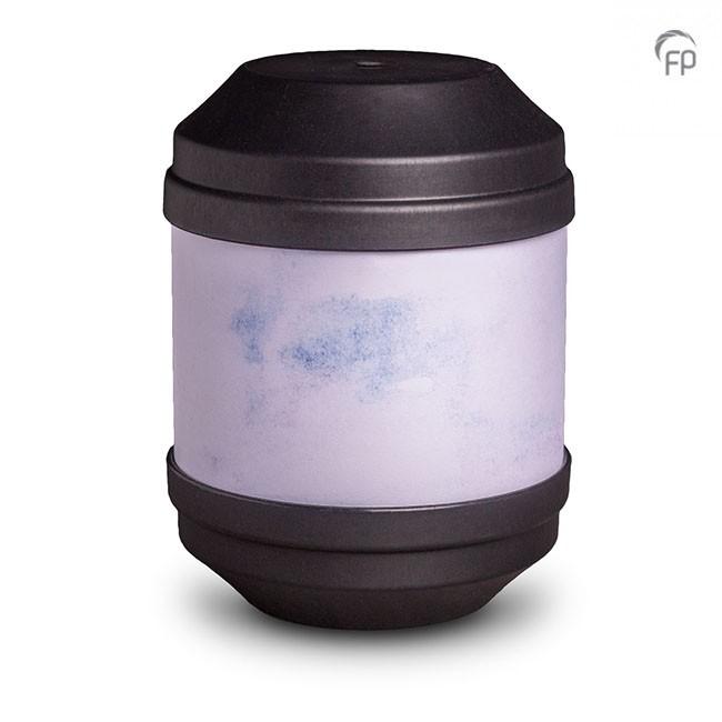 Biologische Abbaubare Öko Urne Anthrazit, Schreibbar (4,0 Liter) Ökologische Urnen