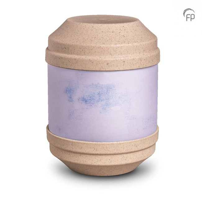 Biologische Abbaubare Öko Urne Beige, Schreibbar (4,0 Liter) Ökologische Urnen