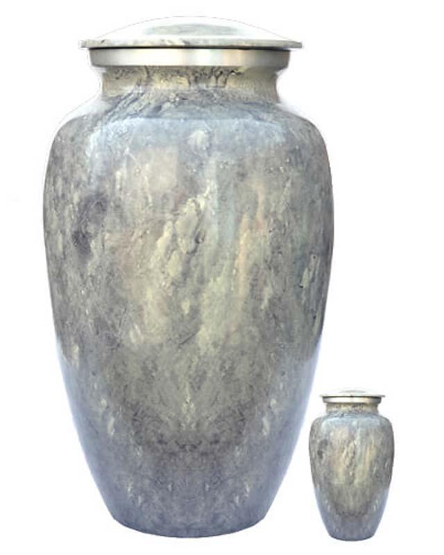 Eleganz Urnen Vorteilset Mehrfarbiges Marmor Aussehen (3,6 Liter) Günstige Urnen