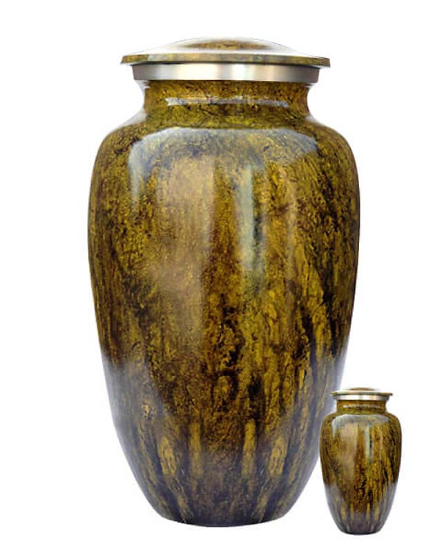 Eleganz Urnen Vorteilset Grüner Wald Aussehen (3,6 Liter) Günstige Urnen