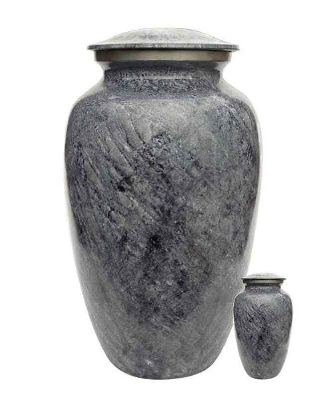 Eleganz Urnen Vorteilset Graue Granite Aussehen (3,6 Liter) Günstige Urnen
