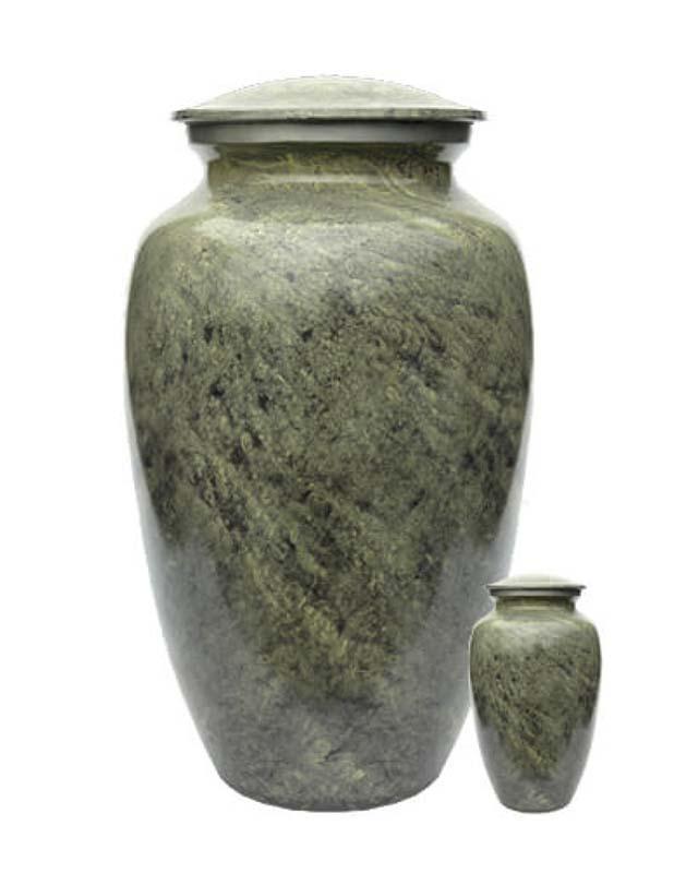 Eleganz Urnen Vorteilset Grüne Granite Aussehen (3,6 Liter) Günstige Urnen