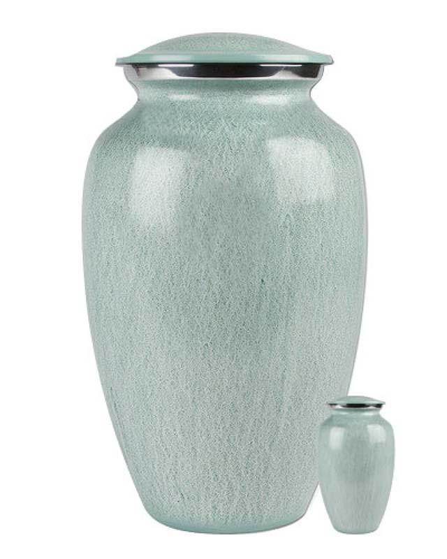 Eleganz Urnen Vorteilset Blau Visage (3,6 Liter) Günstige Urnen