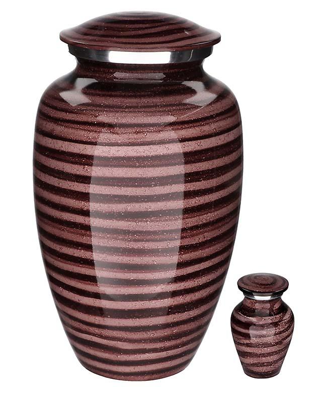Eleganz Urnen Vorteilset Lila Nasses Aussehen (3,6 Liter) Günstige Urnen