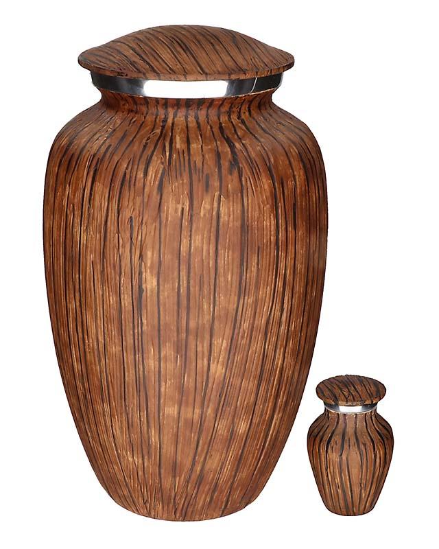 Eleganz Urnen Vorteilset Dunkel Wald Aussehen (3,6 Liter) Günstige Urnen
