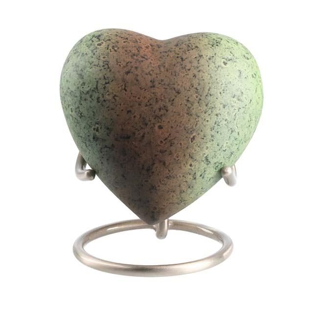 Eleganz Urne Metallisches Aussehen (0,1 Liter) Günstige Urnen