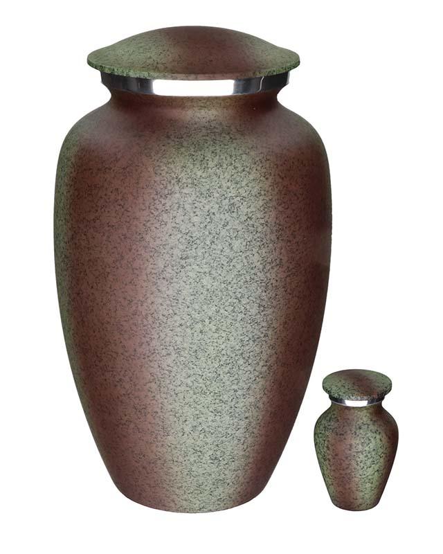 Eleganz Urnen Vorteilset Metallisches Aussehen (3,6 Liter) Günstige Urnen