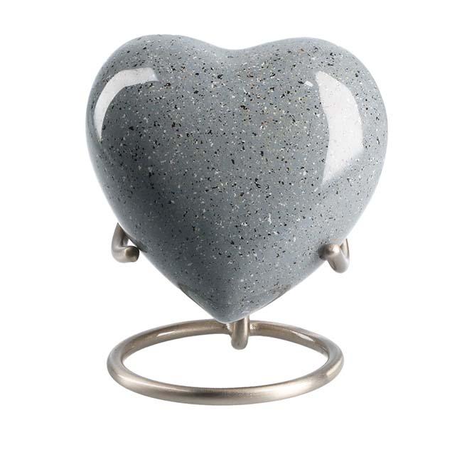 Eleganz Urne Marmor Aussehen (0,1 Liter) Günstige Urnen