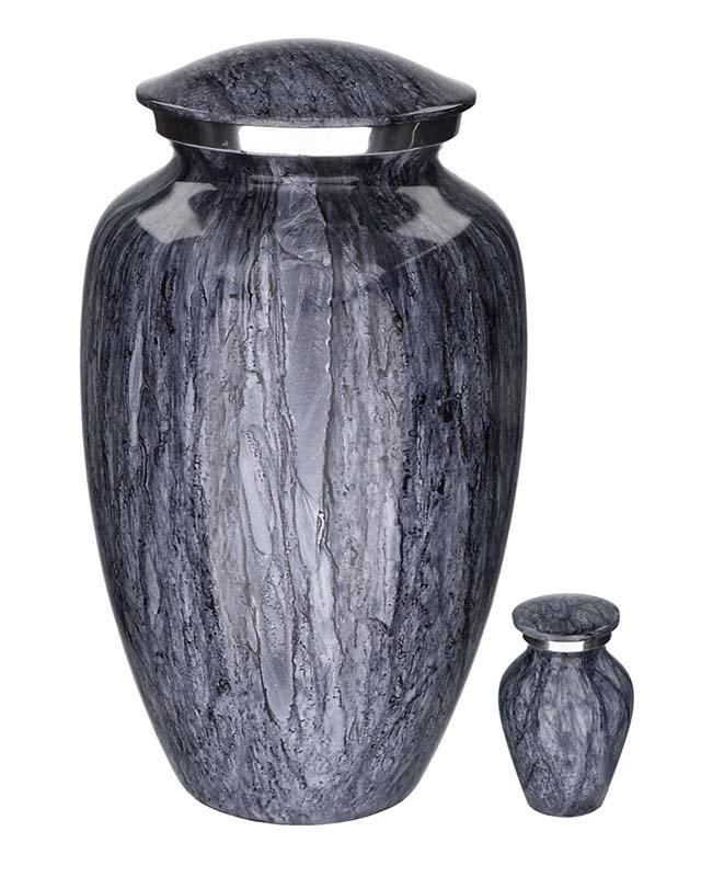 Eleganz Urnen Vorteilset Masse Blau Granite Aussehen (3,6 Liter) Günstige Urnen