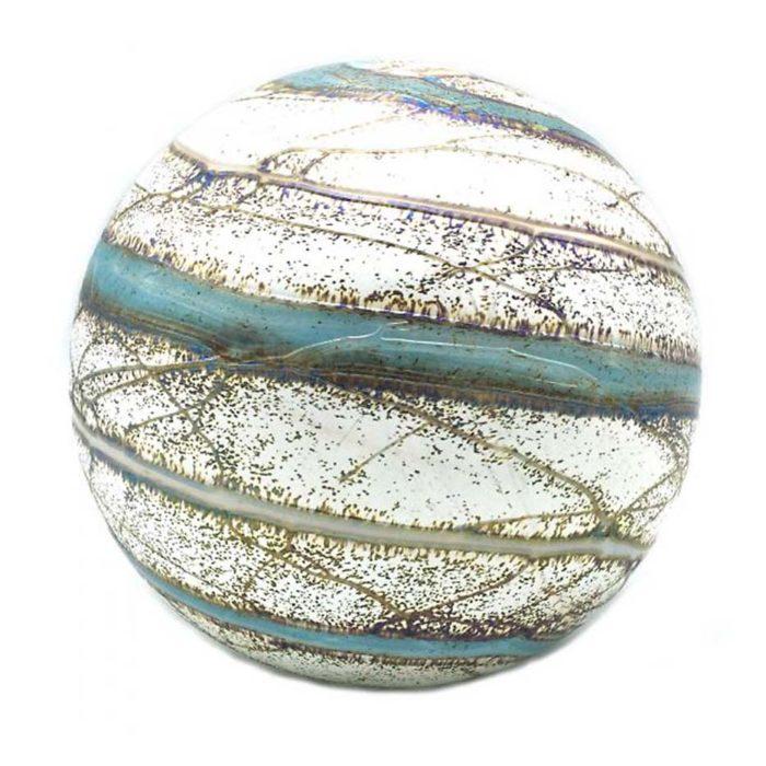 Große Kristallgläser Kugel Urne Elan Nova (4,0 Liter) Glas art Urnen