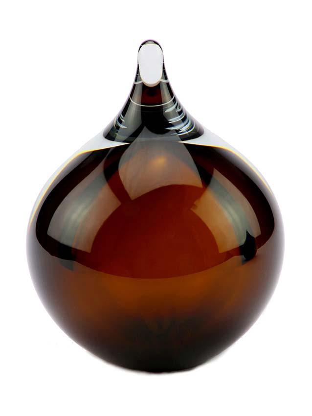 Kleine Kristallgläser 3D Blase Cognac Urne (0,12 Liter) Träne Urnen