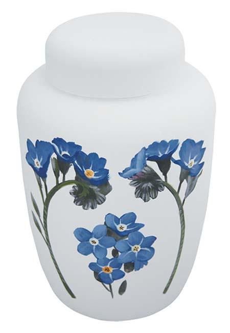 Biologische Abbaubare Öko Urne ´Vergiss mich nicht´ (3,9 Liter) Ökologische Urnen