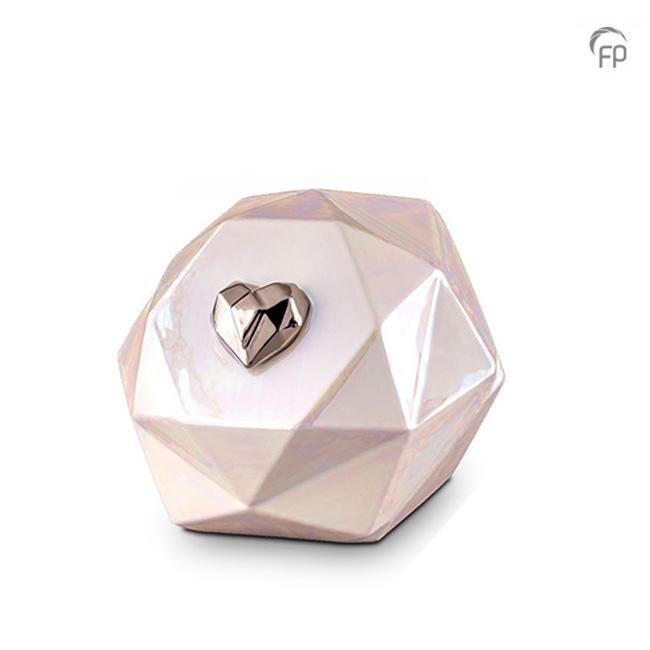 Große Keramische Diamant Urne (3,5 Liter) Keramik Urnen