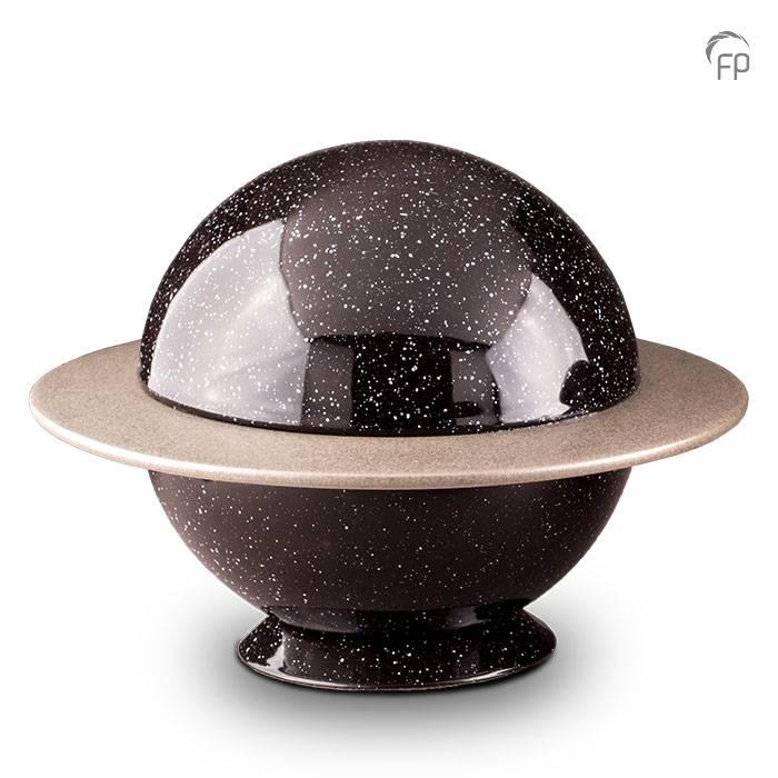 Große Keramische Saturn Urne (3,5 Liter) Keramik Urnen