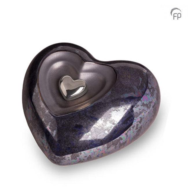 Große Keramische Herz Urne (3,8 Liter) Keramik Urnen