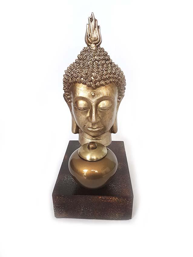 Buddha Hauptdenkmalaltar mit Mini Urne (0,1 Liter) Buddha Urnen