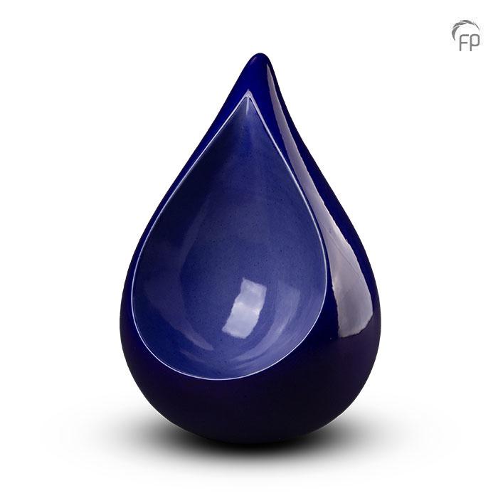 Große Keramische Celest Träne Urne Blau (3,4 Liter) Keramik Urnen