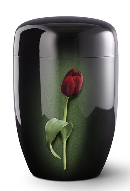 Biologische Abbaubare Öko Urne Rote Tulpe (4,0 Liter) Ökologische Urnen
