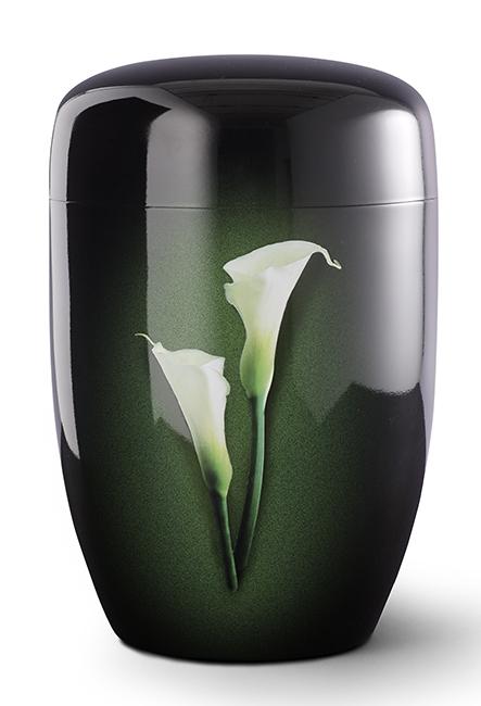 Biologische Abbaubare Öko Urne Weiße Lilien (4,0 Liter) Ökologische Urnen