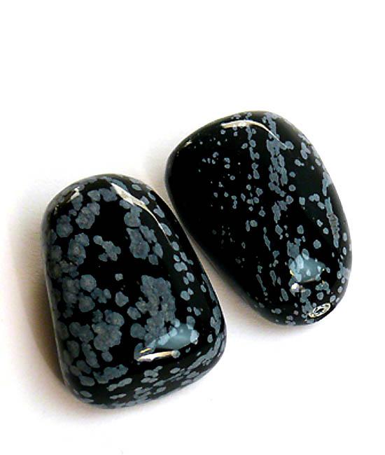 Liegender Gedenkstein Schneeglöckchen Obsidian (0,01 Liter) Mini Tierurnen aus Edelstahl