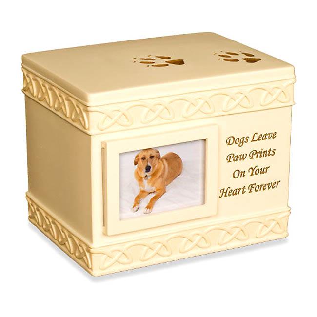 Tierurne Hund Speicherbox (1,4 Liter) Hundeurnen