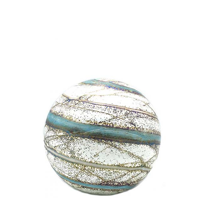 Kleine Glaskugel Tierurne Elan Nova (0,5 Liter) Glaskugelförmige Tierurnen