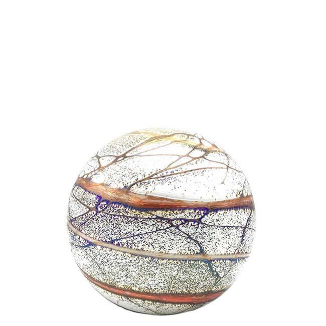 Kleine Glaskugel Tierurne Elan Terra (0,5 Liter) Glaskugelförmige Tierurnen
