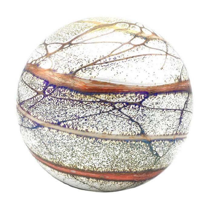 Große Glaskugel Tierurne Elan Terra (4,0 Liter) Glaskugelförmige Tierurnen
