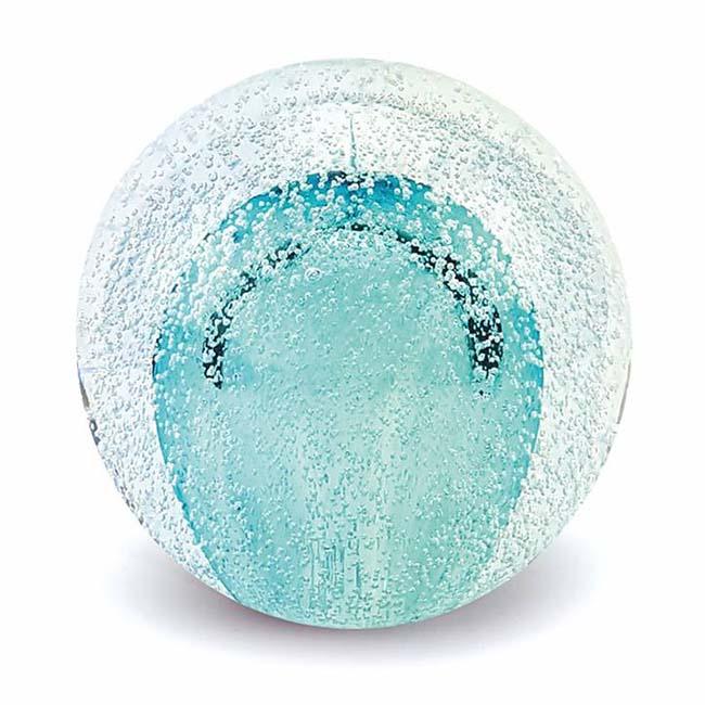 Glas MiniBall Tierurne Sternenstaubbirne Blau (0,08 Liter) Glaskugelförmige Tierurnen