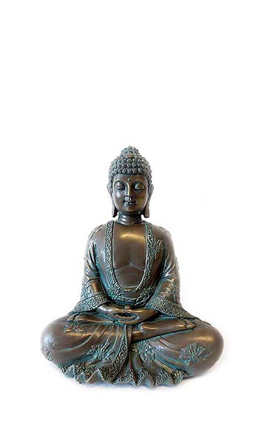 Amithaba Meditation Buddha Tierurne (0,6 Liter) Tierurnen