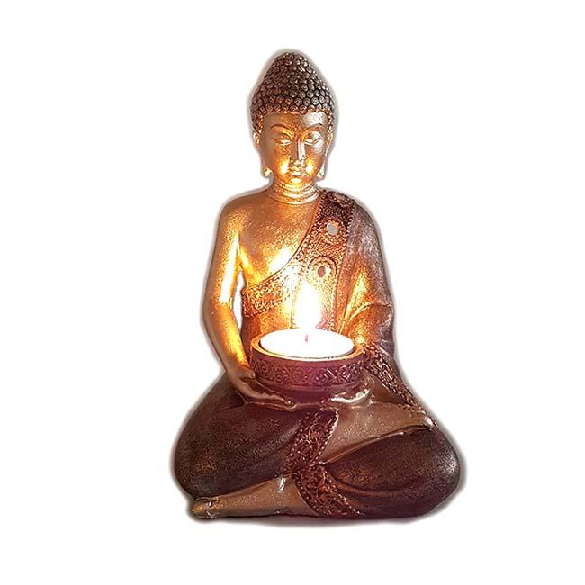 Amithaba Kerzenhalter Buddha Tierurne (0,3 Liter) Tierurnen