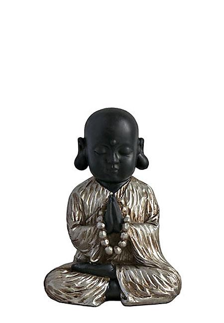 Buddha Tierurne Meditierende Shaolin Mönch (1,0 Liter) Tierurnen