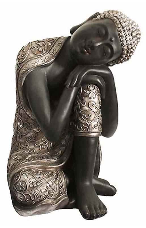 XXL Duo Tierurne Schlafender Indischer Buddha (24,0 Liter) Tierurnen