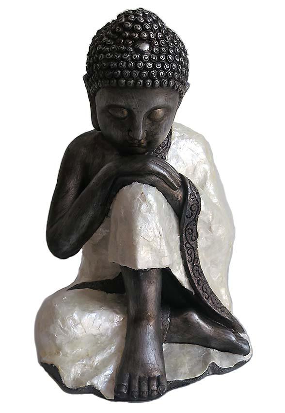 Tierurne ´Versunken in deinen eigenen Gedanken´ Indischer Buddha (4,0 Liter) Tierurnen
