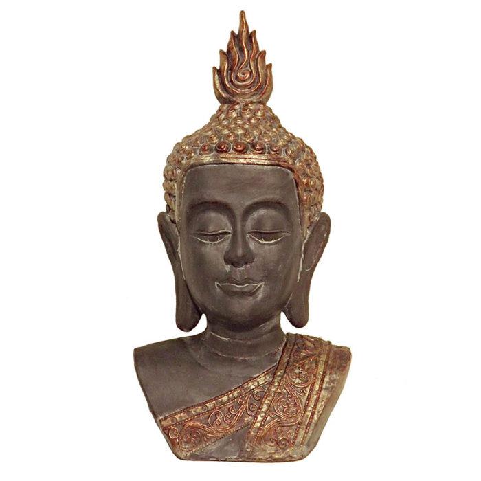 XL Thai Buddha Büste Tierurne (9,0 Liter, geeignet als Duo Tierurne) Tierurnen