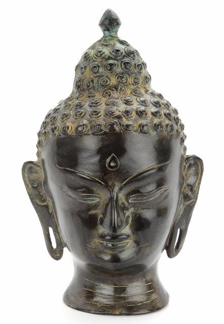 Infinity Art Tierurne Gelassenheit Buddha Bronze (3,6 Liter) Tierurnen