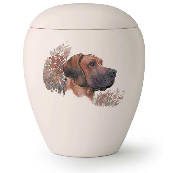 Große Hundurne Dänischer Hund Hängende Ohren (2,8 Liter) Hundeurnen