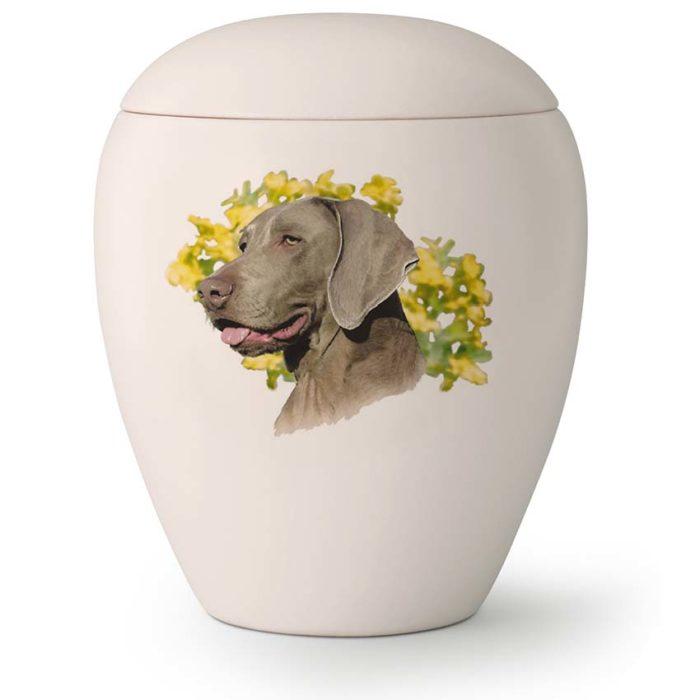 Große Hundurne Weimaraner (2,8 Liter) Hundeurnen