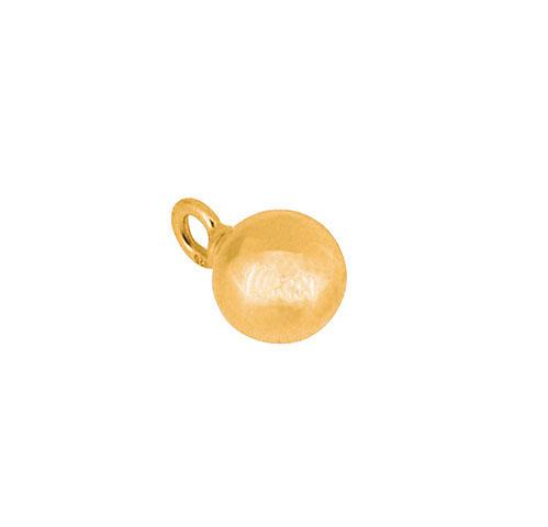 Ascheanhänger Ball Gold Asche Schmuck