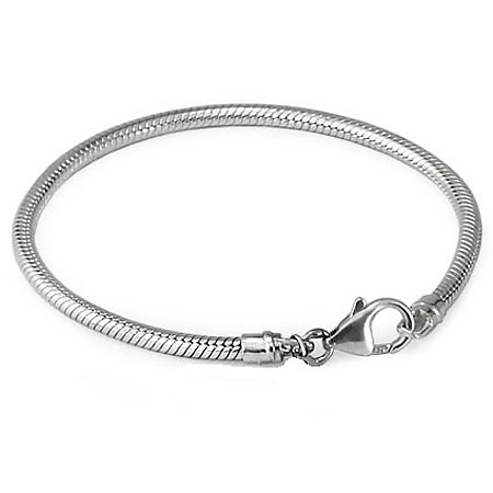 Armband mit Hummerschere Silber Asche Schmuck